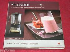 Livre de cuisine / KRUPS Cook book / BLENDER / 50 recettes de Catherine MADANI