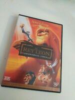 Dvd EL REY LEON EDICION ESPECIAL 2 DISCOS (NUEVAS SECUENCIAS )