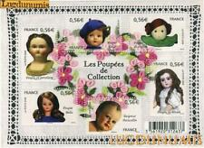 France La Feuille F4394 Poupées de Collection 2009 Neuf Luxe