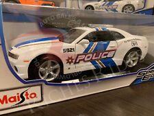 Maisto 1:18 Scale Diecast Model - 2010 Chevrolet Camaro SS (Police Edition)