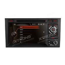 "AUTORADIO 7"" Audi A4 Navigatore Gps Comandi Volante Touch Screen Usb Bluetooth"