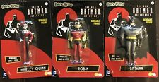 Bend-Ems DC Comics Harley Quinn Batman Robin The Animated Series Lot of 3