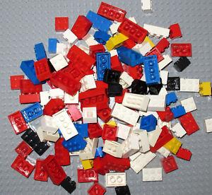 LEGO Vintage Bricks  2x2 ,2x3 ,2x4 pin -250 gram (140-160 pcs)- Mixed Colours