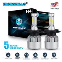CREE COB H4 HB2 9003 1500W 225000LM LED Headlights Kits Hi/Low Power Bulbs 6000K