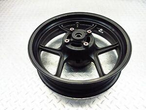2009 07-09 Kawasaki KLE650 KLE650A Versys Rear Wheel Rim Straight Video 17x4.5