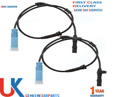 2X FRONT ABS SPEED SENSOR FOR MINI ONE COOPER S R50 R52 R53 (01-07) LEFT & RIGHT