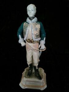 Scheibe-Alsbach Porzellan Figur General Louis de LaSalle