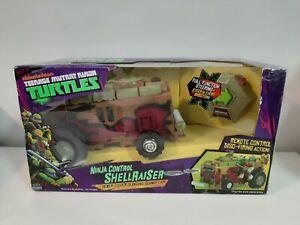 2013 TMNT Ninja Control Shellraiser Sewer-Cover Slinging Subway Car