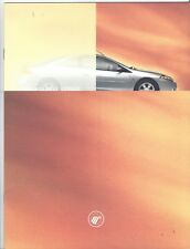 Original/Official 2001 Mercury Cougar Sales Brochure Ford Motor Co.  News