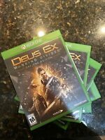 LOT OF 5 Deus Ex Mankind Divided Day One Edition Xbox One [Sealed No Wrapping]