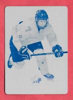 2016-17 Jamie Lee Rattray Upper Deck Team Canada Juniors 1/1 Printing Plate Cyan