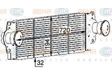 Ladeluftkühler Wärmetauscher original HELLA (8ML 376 723-511)