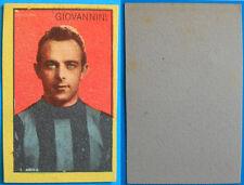FIGURINA CALCIO GIOVANNINI INTER - ANNI 50 - edizione sconosciuta
