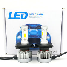 CREE H4 9003 HB2 980W 147000LM LED Headlight Conversion Bulbs Kit Hi/Low 6000K