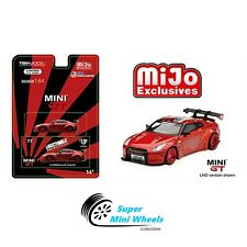 Mini GT 1:64 LB Works Nissan GT-R (R35) Candy Red #77【In Stock】