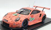 IXO Models 1/18 Scale Diecast LEGT18003 - Porsche 911 GT3 RSR - Pink