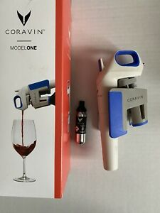 Coravin Model One Wine Bottle Opener and Preservation System EUC
