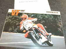 HONDA VF400F SALES BROCHURE
