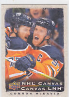 20/21 TIM HORTONS..CONNOR McDAVID..CANVAS..# C-1..OILERS..FREE COMBINED SHIP