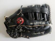 "vtg Rawlings RSG9B Dave Winfield 10"" RHT Black Leather Baseball Glove Mitt"