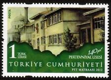 TURKEY MNH  2012 The 140th Anniversary of Pertevniyal High School