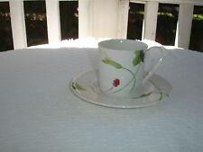 Mikasa Classic Calla Cup and Saucer Set