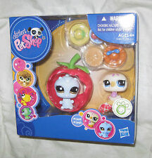 Littlest Pet Shop Caterpillar and Dove Bird Playset #1442 & #1443 MIB BRAND NEW