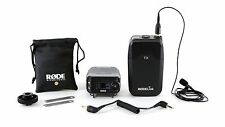 Rode RodeLINK FilmMaker Kit Lavalier Mic DSLR Camera-Mounted Receiver Wireless