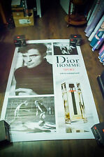 DIOR SPORT ROBERT PATTINSON 4x6 ft Bus Shelter Original Fashion Celebrity Poster