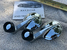 NEW PAIR OF 1949 T0 1964 REPLACEMENT INTERIOR WINDOW VENT CRANK HANDLES !