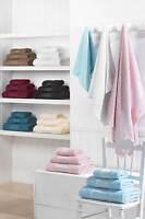 100% Egyptian Cotton Hand Towels Bath Towels Bath Sheets 500gsm Various Colours