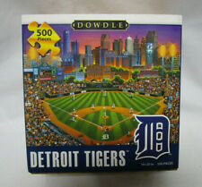 DETROIT TIGERS - 500 Piece Puzzle of Their Stadium by Dowdle - 16x20in