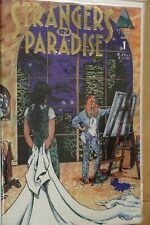 STRANGERS IN PARADISE VOL 2 ISS 1Abstract Studio Terry Moore Bombshell Romance M