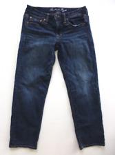 American Eagle Womens Size 0 Boy Fit Stretch Capri Jeans Excellent Condition