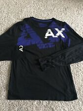 Armani Exchange Mens Black Long Sleeve size L