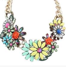 Charm Jewelry Pendant Chain Crystal Choker Statement Necklace Valentine's Day