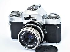 Camera Vintage Voigtländer Zeiss-Ikon Icarex 35 Cs + Tessar 2.8/50