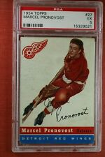 1954 Topps MARCEL PRONOVOST #27 PSA 5 EX *great investment hockey card* DD7