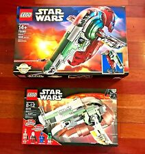 LEGO Star Wars SLAVE I Collection 75060 + 6209 2533pcs combined FREE SHIPPING !