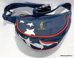 1996 ATLANTA OLYMPICS Fanny Pack Bag Blue White Red adj Waist Band