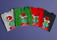 Quarantined Grinch Shirts/Grinch with face mask/Merry Grinchmas/Christmas 2020