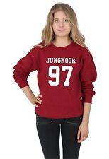 Jungkook 97 Sweater Top Jumper Sweatshirt BTS KPOP Fangirl Jungshook Jimin
