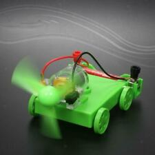 DIY Assembled Science Technology Experiment Educational Wind Power Car Kids