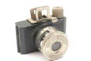 STI Ulca subminiature camera, British Made, Good overall but shutter fault