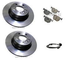 For BMW E53 X5 00-06 Rear Brake Kit By Fremax W/ Ceramic Pads & Sensor
