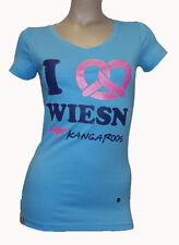 KangaROOS Kurzarm Damenblusen, - tops & -shirts mit Rundhals-Ausschnitt