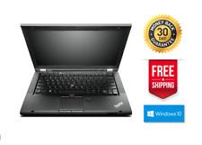 Lenovo-ThinkPad t430s 500gb HDD 8gb RAM i5-3320m 2.6ghz Windows 10 Pro