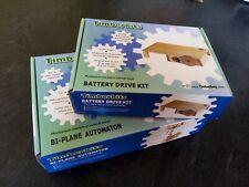 Timberkits Bi-Plane automaton and Battery drive kit