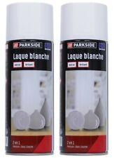 Laque Blanche Lot 2 Spray Aérosol Peinture 2en1 Peinture + Sous-Couche