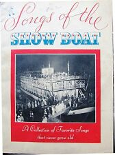 MUSIC BOOK Maxwell House Songs of the Show Boat (1935) radio blackface Molasses